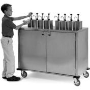 Ez Serve Condiment Cart - 8 Pumps