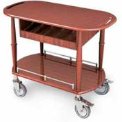 "Geneva Lakeside Serving Cart 35-1/2""x17-3/4""x29"" w/ Cutlery Compartment, 70458"