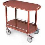 "Geneva Lakeside Serving Cart 35-1/2""x17-3/4""x32-1/4"" w/ 2 Shelves, 70524"