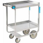 Lakeside® 710 HD Stainless Steel 2 Shelf Cart 30 x 16-1/4 x 34-1/4 700 Lb Cap