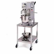 "Lakeside® 717 Stainless Steel Mobile Machine Stand 500 Lb. Cap. - 21-3/16""H"