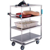 Lakeside® 746 HD Stainless Steel 4 Shelf Truck 3 Edges Up 700 Lb Cap