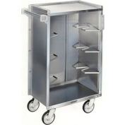 Lakeside® 815 4 Shelf Md Bussing Cart - 28-1/4X16-7/8 Walnut