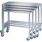 Lakeside® 8381 Stainless Steel Nesting Table 32 x 16 x 34
