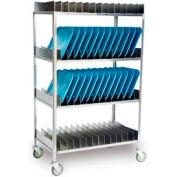 Lakeside® 867 Tray Drying Rack - 80 Tray Capacity