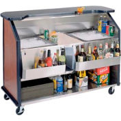 Party Pleaser Bar - 2 Ice Bin - Blue