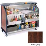 "Geneva Lakeside 64"" Portable Beverage Bar, Insulated Ice Bin, 887-Mahogany"