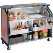 Party Pleaser Bar - 1 Ice Bin - Blue