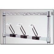 """Nexel® 24""""W Chrome Catheter Side Bar"""