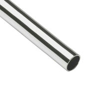"Lavi Industries, Tube, 1.5"" x .050"" x 4', Chrome"