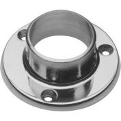 "Lavi Industries, Flange, Wall, for 1.5"" Tubing, Polished Stainless Steel"