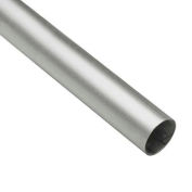 "Lavi Industries, Tube, 1.5"" x .050"" x 8', Satin Stainless Steel"