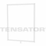 "Tensator Sign Frame Post Rope 11X14"" Polished Chrome"