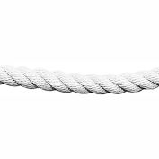 Tensator 1' L White Twisted Rope