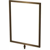Sign Frame - Statuary Bronze 11 x 8-1/2
