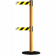 Dual Line Tensabarrier Yellow - Black and Yellow Belt