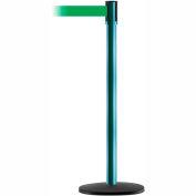 Slimline Tensabarrier Standard - Green Belt - Green