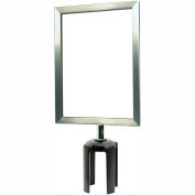 Standard Sign Frame 7 x 11 - Satin Chrome