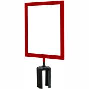 Standard Sign Frame 8-1/2 x 11 - Red