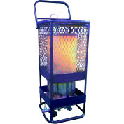 L.B. White® Portable Gas Radiant Heater, 125K BTU, Propane - Sun Blast 125