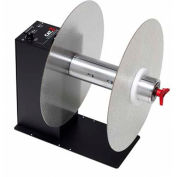 """LABELMATE Automatic Label Rewinder For Up To 10-1/2"""" W x 12"""" Diameter, 3"""" Core Rolls"""