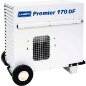 L.B. White® Portable Gas Heater Premier 170 DF, 170K BTU, LPG/NG, Thermostat, Hose, Regulator