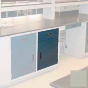 "Lab Base Cabinet 18""W x 22-1/2""D x 35-3/4""H, 1 Drawer, 1 Cupboard Door W/1 Adj Shelf, Champagne"