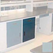 """Lab Base Cabinet 24""""W x 22-1/2""""D x 35-3/4""""H, 1 Drawer, 1 Cupboard Door, W/1 Adj Shelf, Model Gray"""
