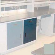 "Lab Base Cabinet 24""W x 22-1/2""D x 35-3/4""H, 1 Drawer, 1 Cupboard Door, W/1 Adj Shelf, Stone Gray"