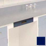 """Kneespace Drawer Housing, 24""""W x 22-1/2""""D x 3-3/4""""H, Navy Blue"""