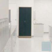 "Lab Wall Freestanding Cabinet 35""W x 18""D x 84-1/4""H, 2 Steel Doors, 5 Adj Shelves, Model Gray"
