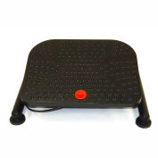 ShopSol Footrest with Pneumatic Height Adjustment - Black