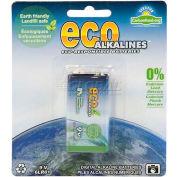 Ecoalkaline™ 9volt Battery - Pkg Qty 10