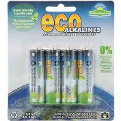 ECOAlkaline™ AA 4 Pack - Pkg Qty 12