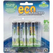 ECOAlkaline™ AA 8 Pack - Pkg Qty 5