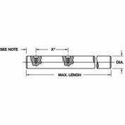"Pre-Drilled 60 Plus Linear Shafting Class L - 1-1/2"" Dia. Shaft"