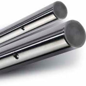 """Pre-Drilled 60 Plus Chromed Linear Shafting Class L - 1/2"""" Dia. Shaft"""