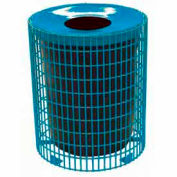32 Gallon Wire Receptacle - Blue