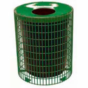 32 Gallon Wire Receptacle - Green