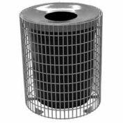 32 Gallon Wire Receptacle - Gray