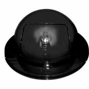 55 Gallon Drum Dome Lid - Black