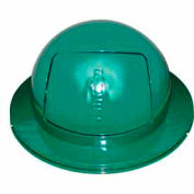 55 Gallon Drum Dome Lid - Green