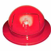 55 Gallon Drum Dome Lid - Red