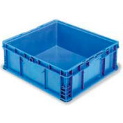 """ORBIS Stakpak NSO2422-9 Modular Straight Wall Container, 24""""L x 22-1/2""""W x 8-11/16""""H, Blue"""