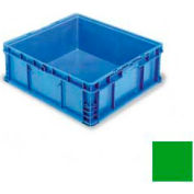 """ORBIS Stakpak NSO2422-9 Modular Straight Wall Container, 24""""L x 22-1/2""""W x 8-11/16""""H, Green"""