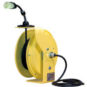 Lind Equipment LE9050123S2 50Ft 12/3 SJOW Cable Cord Reel W/ 15A Single Outlet
