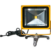 Lind Equipment LE965LED-FS Portable Heavy-Duty LED Flood Light - 30W, Floor Stand