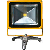 Lind Equipment LE965LEDC-FS Battery Powered Portable Heavy-Duty LED Flood Light - 30W, Floor Stand