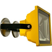 Lind Equipment LE965LEDC-MAG Battery Powered Portable Heavy-Duty LED Flood Light - 30W, Magnet Mount