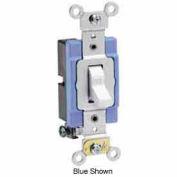 Leviton 1201-2GY 15A, 120/277V, Single-Pole AC Quiet Switch, Gray
